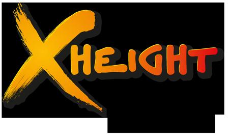 X-height logo